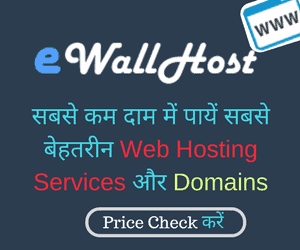 ewallhost best cheap hosting provider india