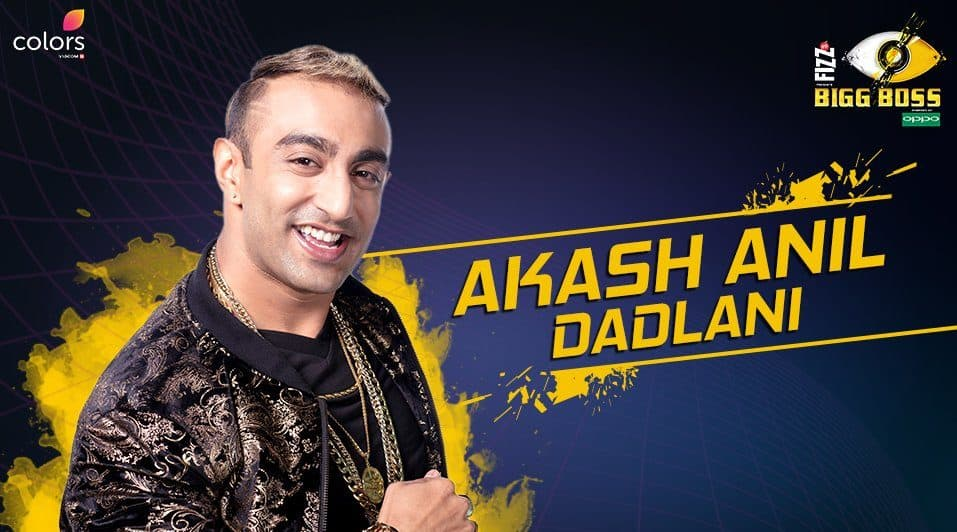 Akash Dadlani Bigg Boss 11 – Biography, Wiki, Personal Details, Contestant Facts in Hindi